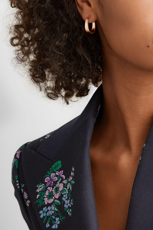 Anita Ko Meryl 18-karat rose gold hoop earrings