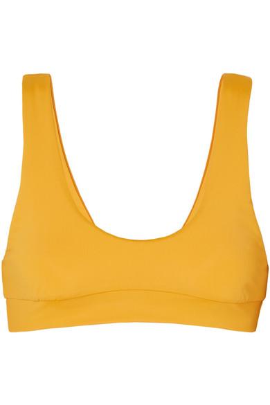 F E L L A Romeo Bikini Top in Mustard