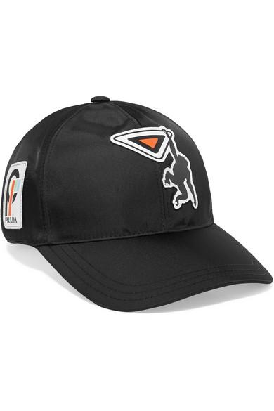 Prada. Appliquéd shell baseball cap e61e5bbb52f