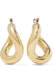 Laura Lombardi Anima gold-tone hoop earrings