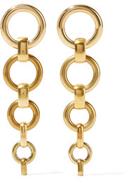 Cambia gold-tone earrings
