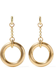 Gilia gold-tone earrings