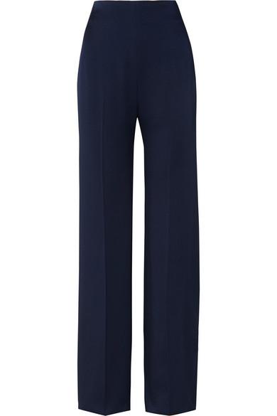 Satin Wide Leg Pants by Jenny Packham