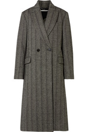 Stella McCartney Oversized herringbone wool coat