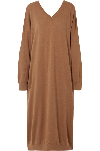 STELLA MCCARTNEY OVERSIZED WOOL AND ALPACA-BLEND DRESS