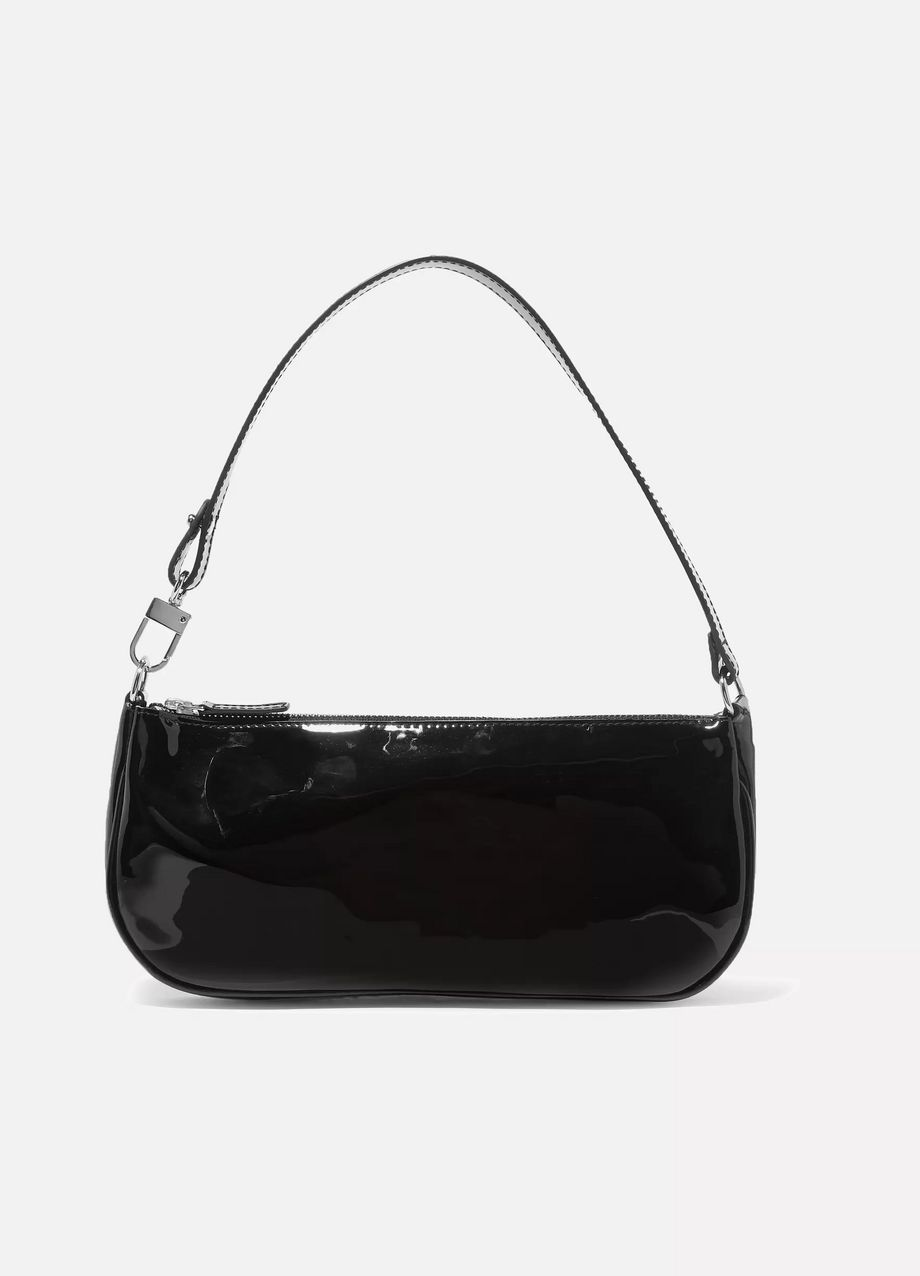 Rachel patent-leather shoulder bag by By Far, available on net-a-porter.com for $365 Kendall Jenner Bags SIMILAR PRODUCT