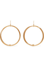 Thalia gold-plated earrings
