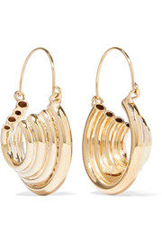 Passato gold-tone earrings
