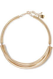 Passato gold-tone necklace