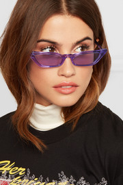 Le Skinny cat-eye acetate sunglasses