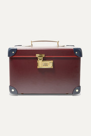 Goring 13'' leather-trimmed fiberboard vanity case