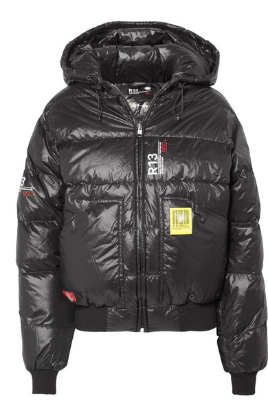 d1e179354 + R13 quilted shell down jacket