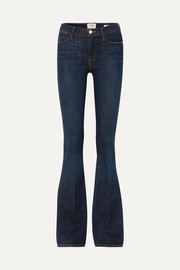 Le High high-rise flared jeans