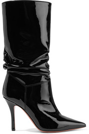 Ida patent-leather boots