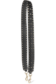 Valentino Garavani The Rockstud Spike matelassé quilted leather bag strap