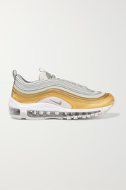 Air Max 97 SE metallic leather and mesh sneakers