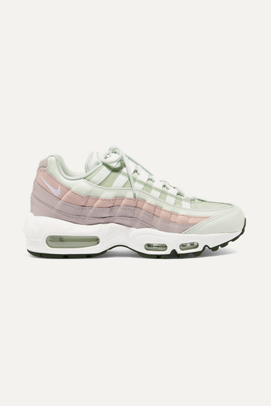 chaussures de sport 28c40 41a05 Air Max 95 suede, mesh and leather sneakers