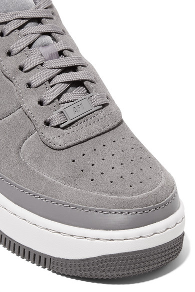 Nike Air Force 1 Jester Suede Sneakers Net A Porter Com