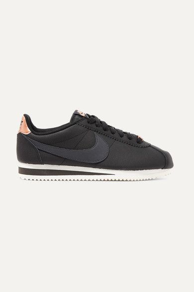 Classic Cortez textured,leather sneakers