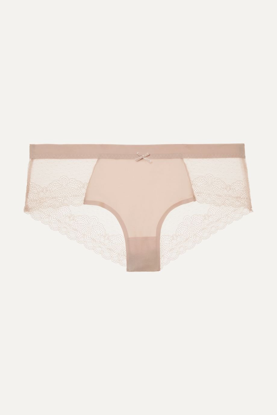 Chantelle Le Marais stretch-lace and point d'esprit briefs