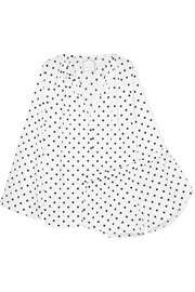 Reese polka-dot cotton-poplin pajama set