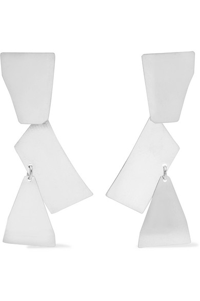 ANNIE COSTELLO BROWN Fragment Sterling Silver Earrings