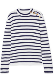 Paco Rabanne Striped wool sweater