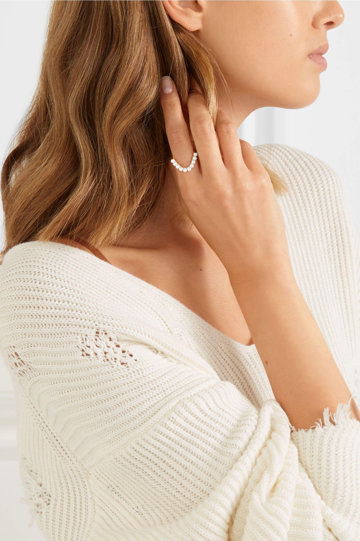 SARAH & SEBASTIAN Perle Heirloom 9-karat gold pearl ring