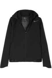 Zonal Aeroshield hooded shell track jacket