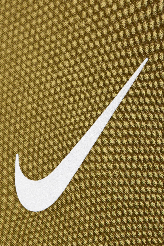 Nike Speed cropped paneled metallic Dri-FIT stretch leggings