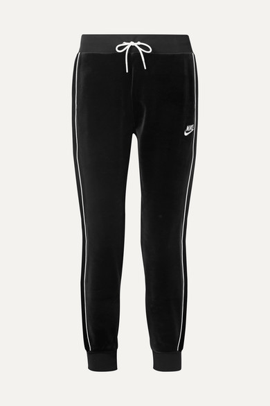 9122b95cbcb Nike | Stretch-velour track pants | NET-A-PORTER.COM