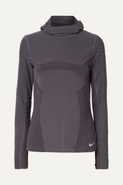 Nike Element hooded stretch top