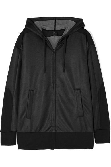 NIKE | Nike - Dry Shimmer French Terry Hoodie - Black | Goxip