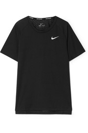 Tailwind perforated Dri-FIT stretch-jersey T-shirt