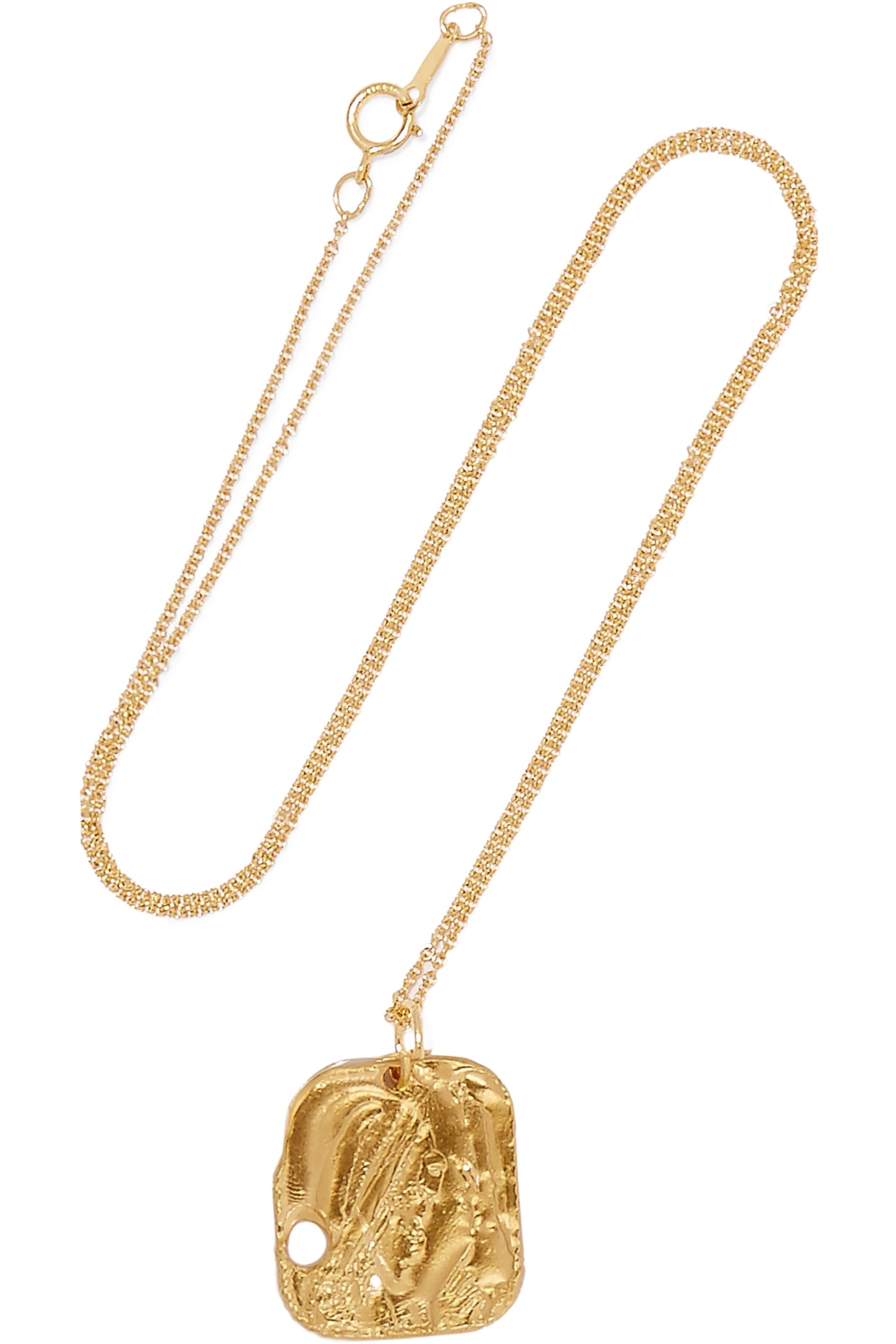 Alighieri The Sorcerer gold-plated necklace