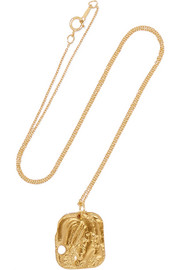 The Sorcerer gold-plated necklace
