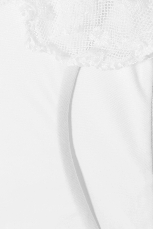 Anjuna Nancy Triangel-Bikini mit Häkel- und Spitzenbesätzen