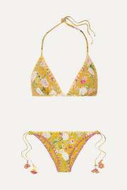 Anjuna Bikini Triangle à Empiècements En Crochet Et En Dentelle Nancy - Blanc Livraison Gratuite En France GaPOZm8x