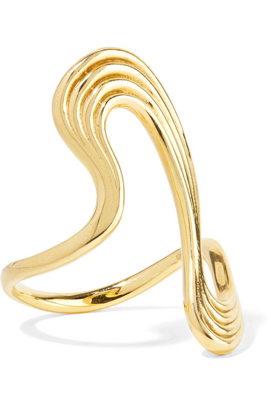 FERNANDO JORGE STREAM LINES 18-KARAT GOLD RING