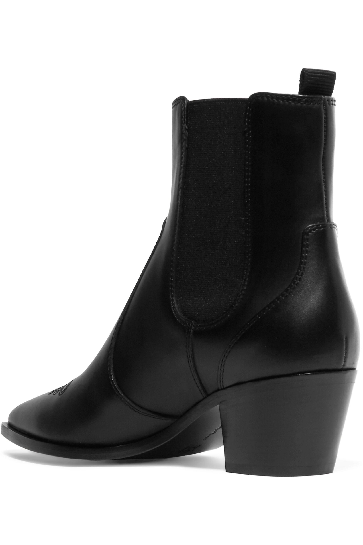 Gianvito Rossi Austin 45 leather Chelsea boots