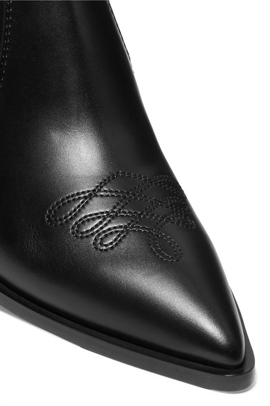 Gianvito Rossi Boots Austin 45 leather Chelsea boots