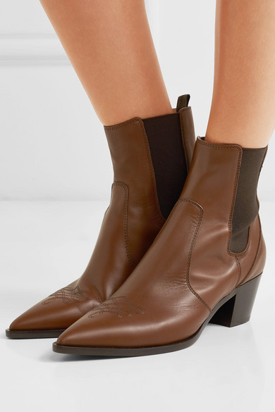 Gianvito Chelsea Rossi | Austin 45 Chelsea Gianvito Boots aus Leder ecb156