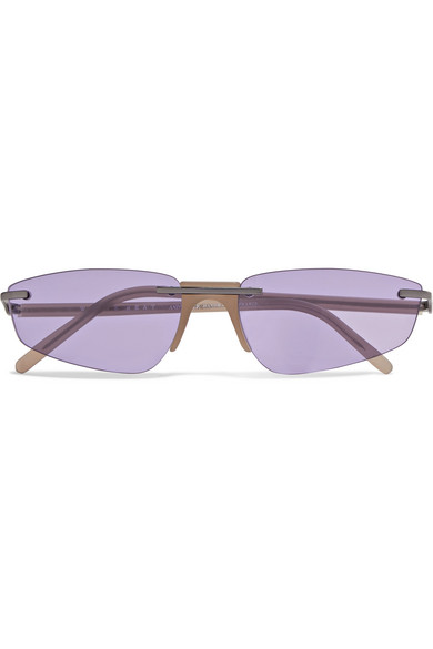 ANDY WOLF OPHELIA CAT-EYE ACETATE SUNGLASSES