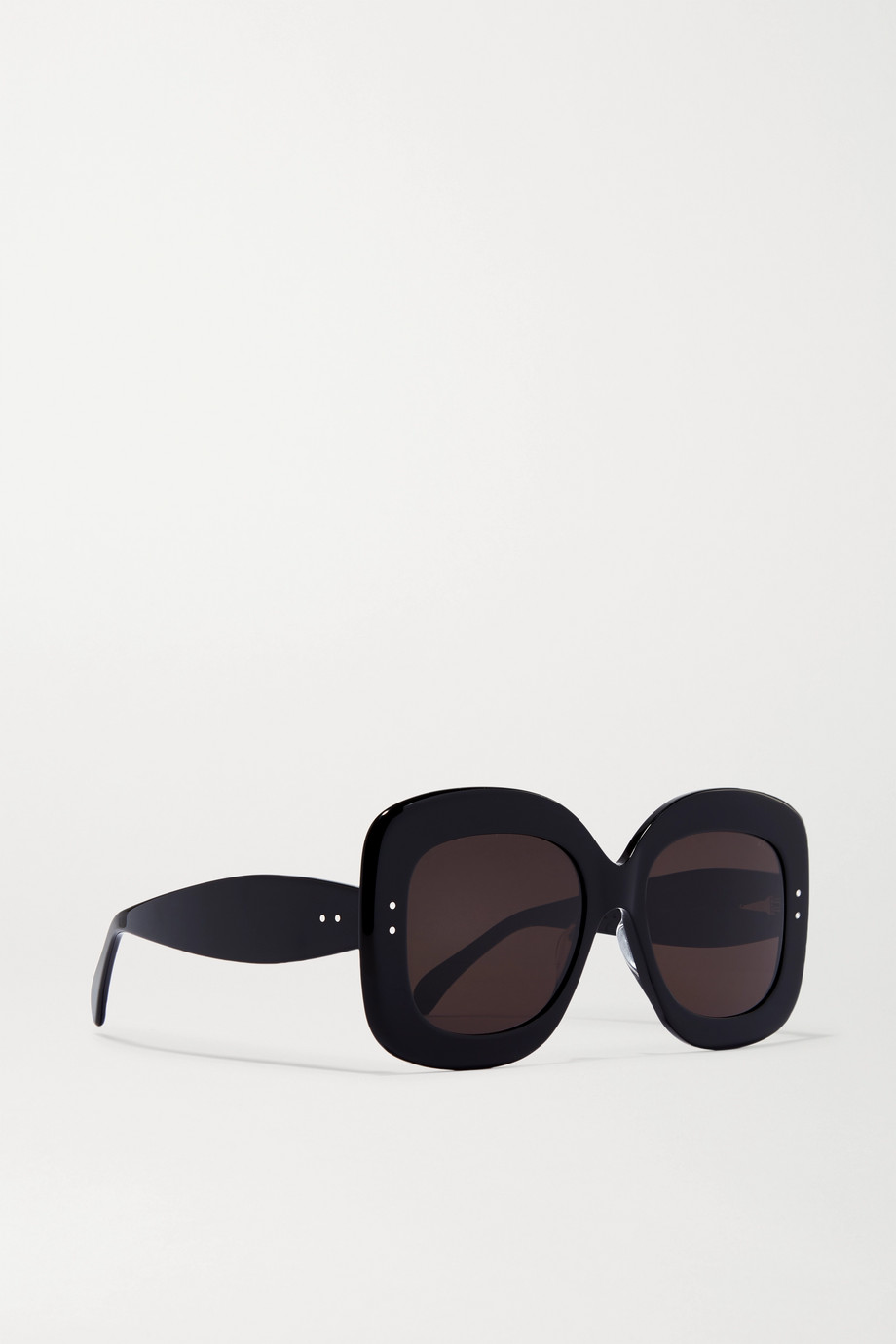 Alaïa Square-frame acetate sunglasses
