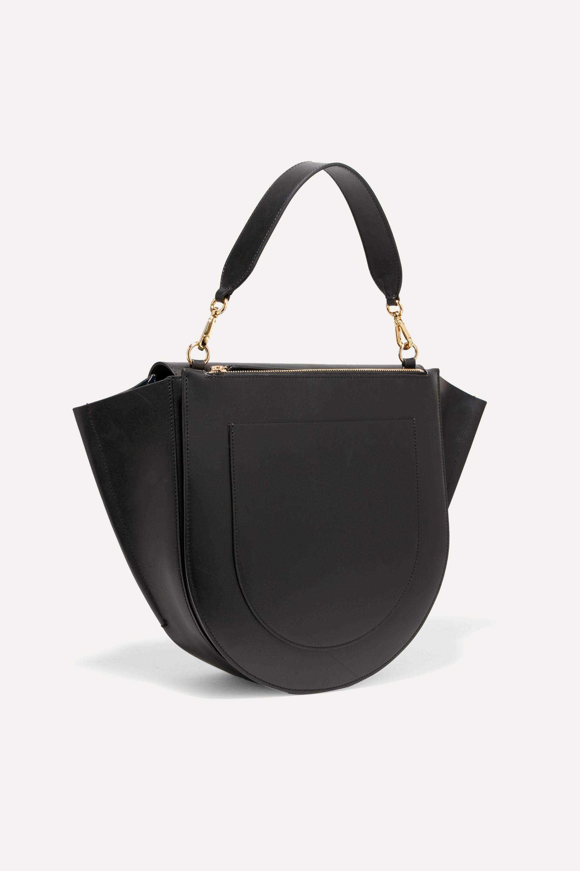 Wandler Hortensia large leather shoulder bag