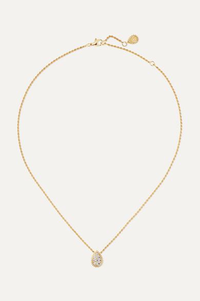 Boucheron SERPENT BOHÈME 18-KARAT GOLD DIAMOND NECKLACE