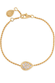 Serpent Bohème 18-karat gold diamond bracelet