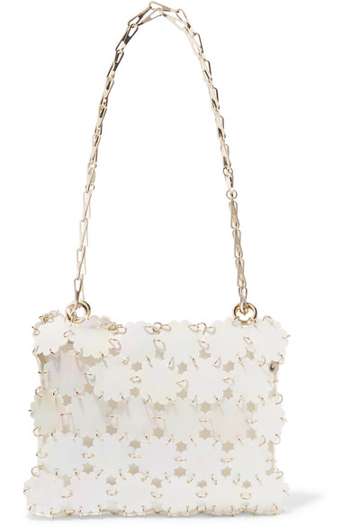 Paco Rabanne - Blossom 1969 Sequined Shoulder Bag - White