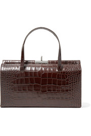 Gu_de Margot croc-effect leather tote