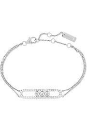 Messika Move Classic 18-karat white gold diamond bracelet